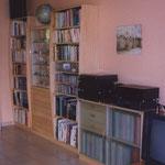Bibliothèque/vitrine d'exposition