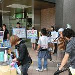 ■仙台駅でテレビPR