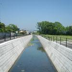 準用河川油沢(二枚橋排水路)筋河川改修工事