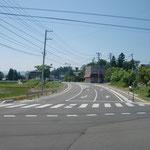市道~工沢椚の目線道路改良舗装工事