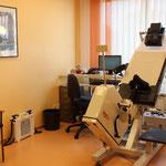 Belastungs-EKG Liege / Stressechokardiographie