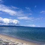 富山の雨晴海岸。(ericoさんより。感謝です(^^))