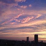 美しい色の雲なんですよ…。