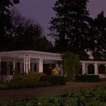 Pergola am Rosengarten im Park Vogelgesang