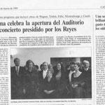 El País, marzo de 1999, A. Fancelli