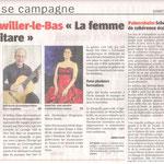 La femme et la guitarre