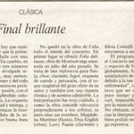 La Vanguardia. Pau Nadal. 16-5-1998