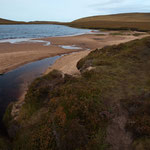 This is where our three-day hike started... towards the northernmost lighthouse of scotland...