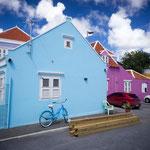 colorful streets, Curacáo, Carribean