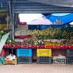 venezuelan merchants market, Curacáo, Carribean