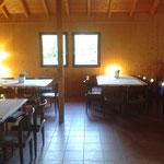 Der Innenbereich für ca. 40-50 Personen
