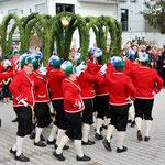 Der historische Tanz der Fassmacher findet nur alle 7 Jahre statt