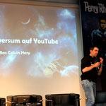 Ben Calvin Hary erzählt über das Perryversum auf YouTube