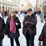 Wiener Fans unterwegs in München