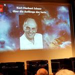 Ton-Einspielung von K.H. Scheer über die Anfänge der Serie