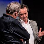 Andrea Zogg als Richard Graber und Pascal Ulli als Walter Hardmeier, Foto von René Tanner