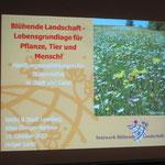 Vortrag Blühende Landschaften von Holger Loritz