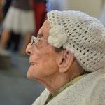 Mme Cohen, doyenne des résidantes...104 ans...