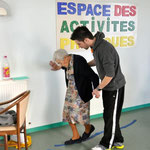 """Activité """"Equilibre et Prévention des chutes"""" par L'association SIEL BLEU"""