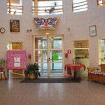 Le Hall d'entrée de la Résidence