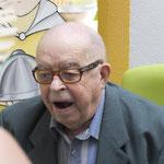Monsieur Beillard, résidant...et créateur de la maison de retraite...il y a 20 ans...
