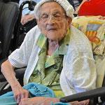 Mme Cohen, doyenne des résidants...104 ans...