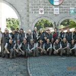 foto a Blumenau davanti al circolo Trentino