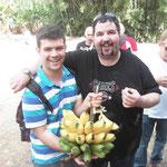 merenda con le banane