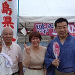 京都徳島県人会 鴨川納涼2012
