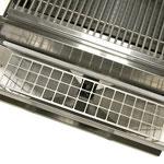 Memphis Advantage mit Pelletvorratsbehälter und Schutzabdeckung
