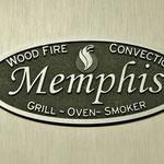 Memphis Advantage Holzpelletgrill Emblem