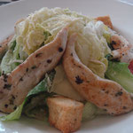 A classic Caesar salad