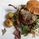 The foie gras & truffle burger