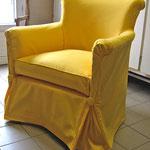 Création de housses sur mesure, recouvrement de fauteuils, Stéphanie Lauchas, tapissier décorateur en Gironde