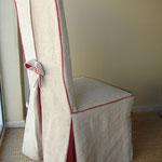 Création de housses sur mesure, recouvrement de chaises, Stéphanie Lauchas, tapissier décorateur en Gironde