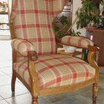 Réfection de fauteuils, Stéphanie Lauchas, tapissier décorateur en Gironde
