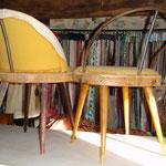 Réfection de chaises, Stéphanie Lauchas, tapissier décorateur en Gironde