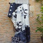 Création de rideaux sur-mesure, tissus d'ameublement, Stéphanie Lauchas tapissier décorateur en Gironde