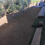 Rasenplanie für Rollrasen
