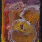 Petit Portrait Homme lama 21x15 cm 2015 dessin craie