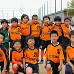 4/22 第25回 ロータス杯 東部大会出場決定 4年生