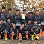 11/26 東鷲宮フレンドリーカップ 6年生 第3位