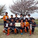 ■4/14 第33回 早稲田つつみカップサッカー大会 5年生 第3位