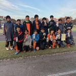 11/24 11/25 幸手近隣少年少女サッカー大会 6年生 準優勝