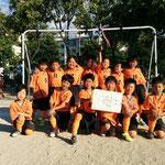 6/3 瀬崎大会 準優勝 2年生