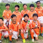 5/06 飯塚少年サッカー大会 4年生 第3位