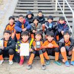 12/16 田間宮チャレンジカップ 4年生 敢闘賞