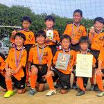 6/24 第16回 PCエイト杯(U-10) 4年生 優勝