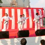 旋拳道 大阪吹田市演武チーム ダンス