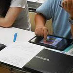 タブレット活用講座「ロイロノートスクール体験」